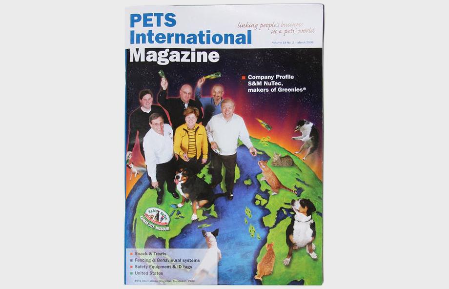 PETS International Cover